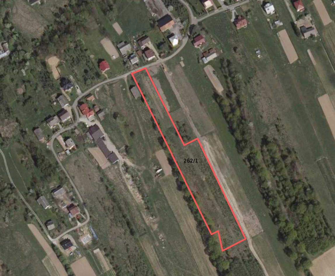 Działka rolno-budowlana Łazy