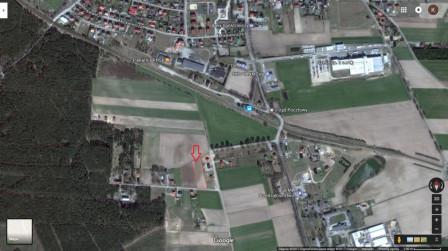 Działka budowlana Osie, ul. Stary Tartak