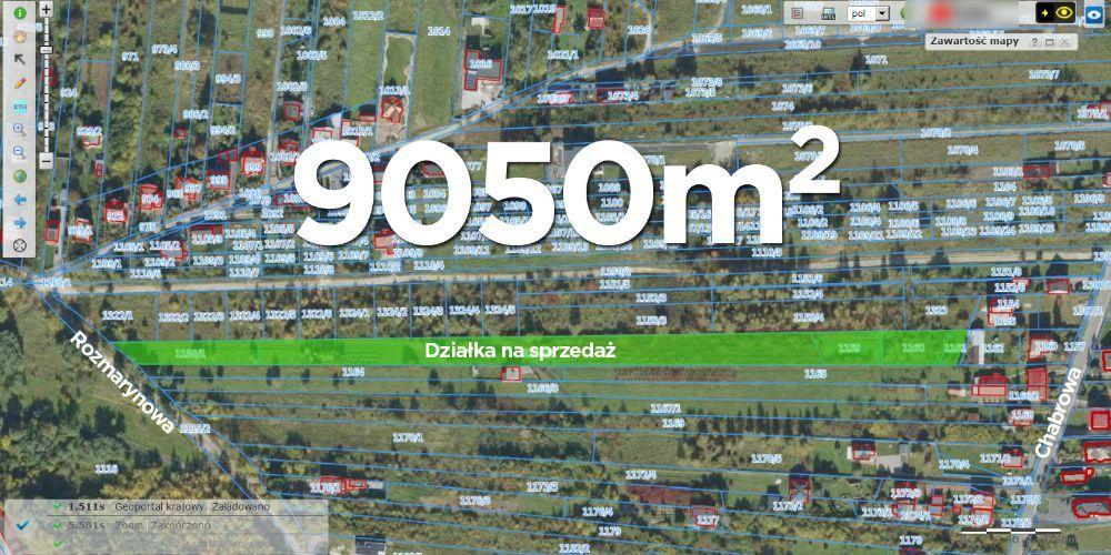 Działka rolno-budowlana Kielce Bukówka, ul. Rozmarynowa