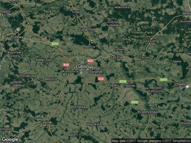 Działka rolna Świdnik