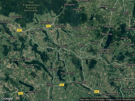 Działka rekreacyjna Kolonia Przerośl