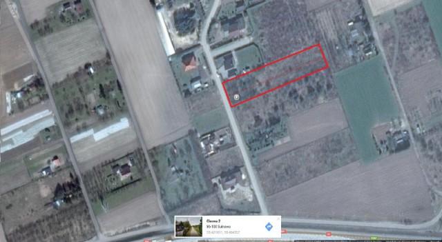 Działka rolna Sulnowo, ul. Cisowa