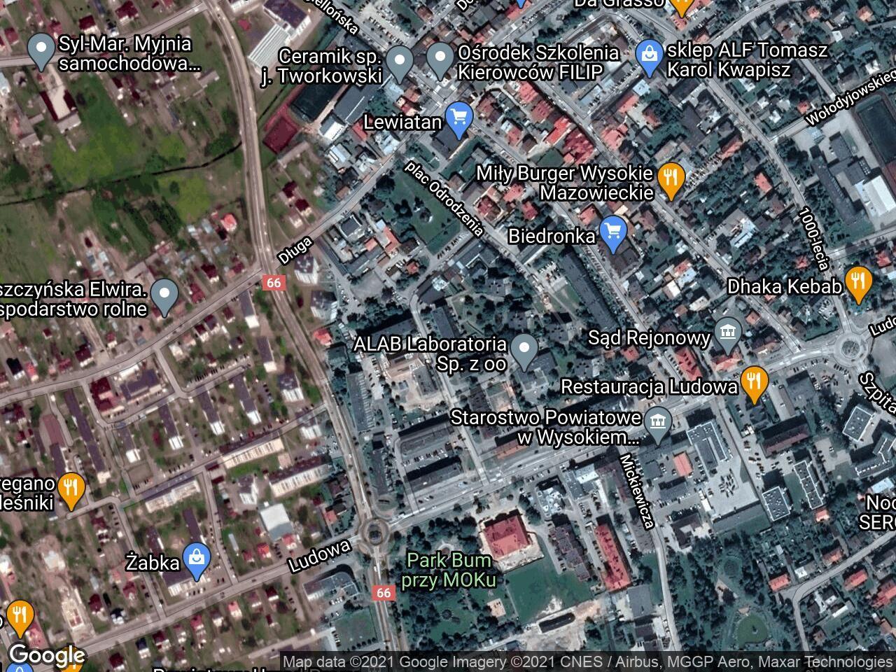 Mieszkanie 3-pokojowe Wysokie Mazowieckie, ul. Armii Krajowej