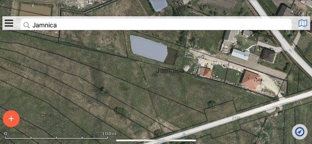 Działka rolno-budowlana Jamnica