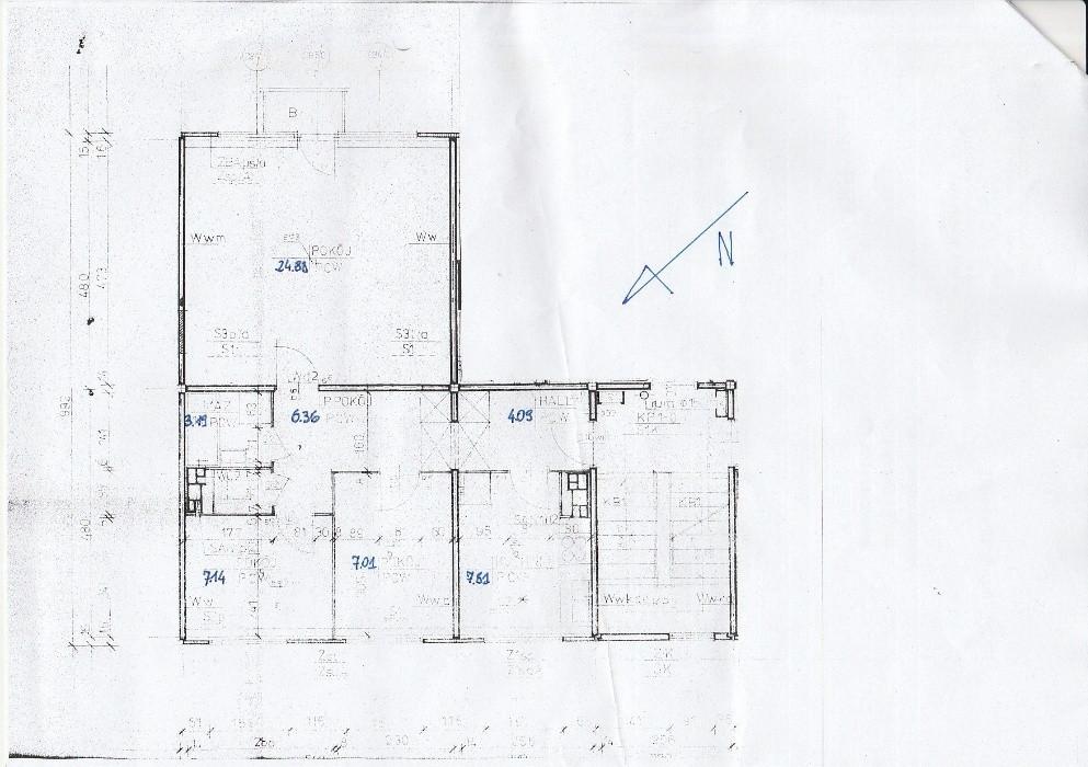 Mieszkanie 3-pokojowe Hajnówka, ul. Lipowa