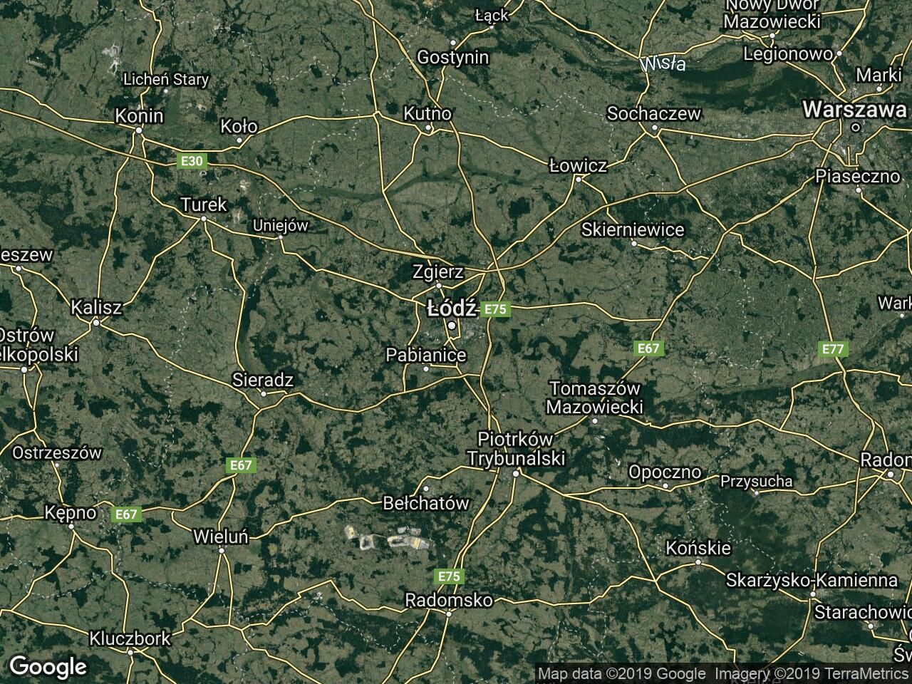 Działka inwestycyjna Łódź Górna