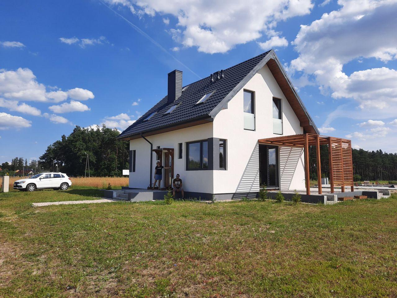 dom wolnostojący, 5 pokoi Oksa Borek, ul. Modrzewiowa