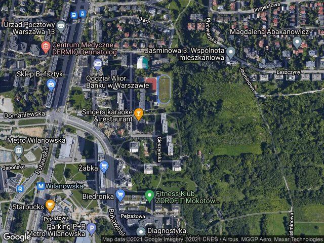 Mieszkanie 3-pokojowe Warszawa Mokotów, ul. Cieszyńska