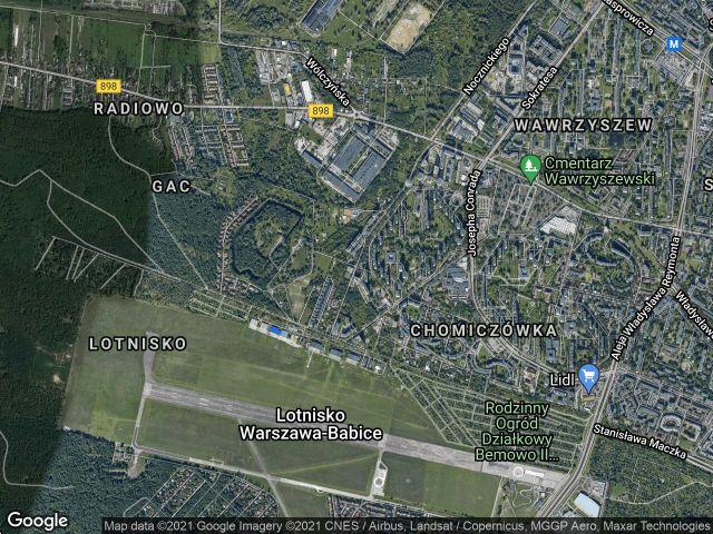 Mieszkanie 1-pokojowe Warszawa Bielany, ul. Maszewska