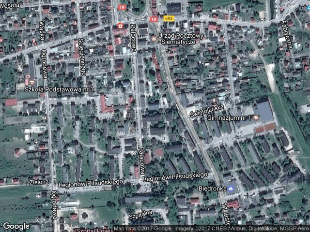 Mieszkanie 2-pokojowe Siemiatycze, ul. Pałacowa 17A