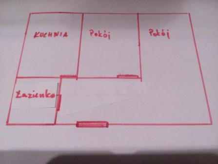 Mieszkanie 2-pokojowe Wysokie Mazowieckie, ul. 1 Maja 3