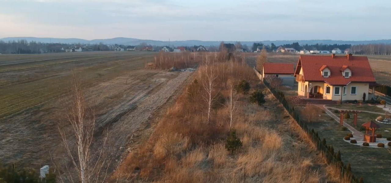 Działka rolno-budowlana Wola Jachowa