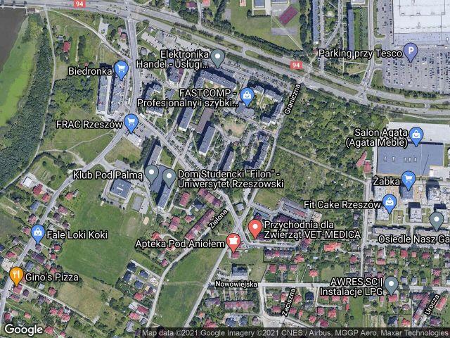Mieszkanie 3-pokojowe Rzeszów Drabinianka, ul. Cicha