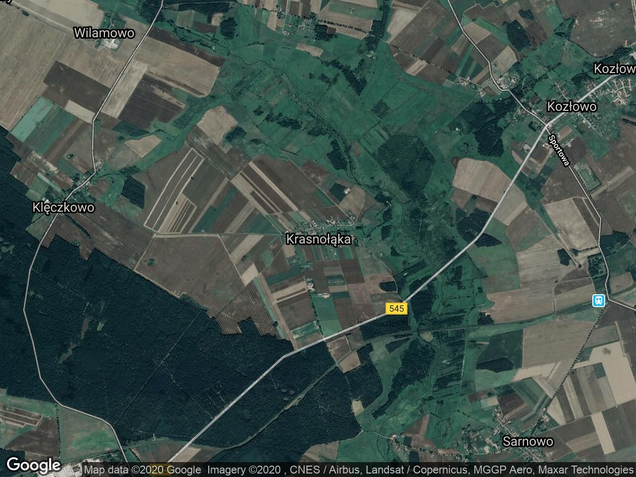 Działka rolna Krasnołąka