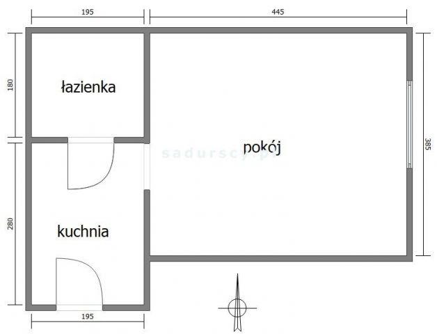 Mieszkanie 1-pokojowe Kraków Prądnik Biały, ul. Witkowicka