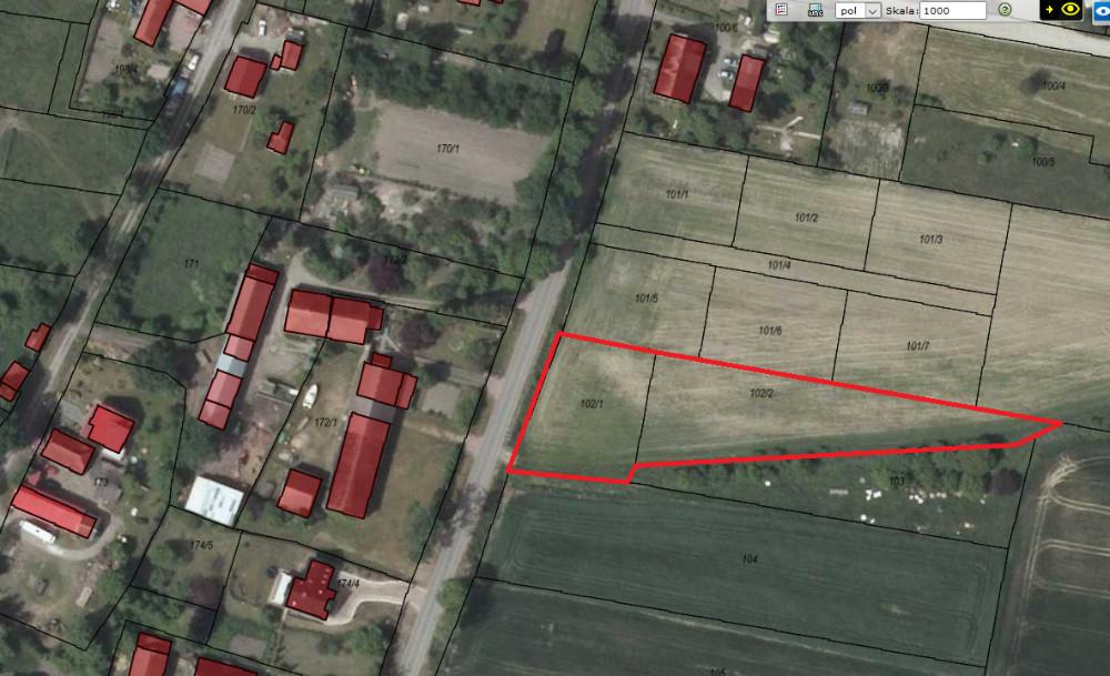 Działka budowlana Porzecze
