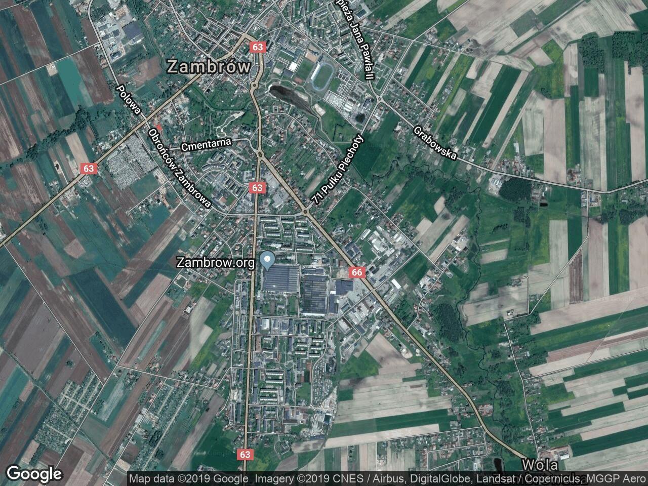 Mieszkanie 3-pokojowe Zambrów, ul. Mazowiecka