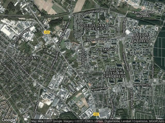 Mieszkanie 2-pokojowe Poznań Piątkowo, ul. Franciszka Stróżyńskiego 13