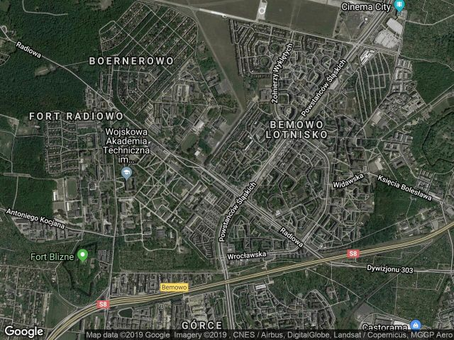 Mieszkanie 3-pokojowe Warszawa Bemowo, ul. Apenińska 1A