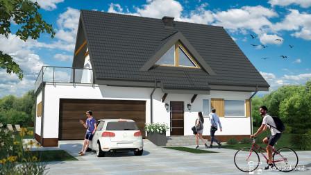 dom wolnostojący, 5 pokoi Krupniki