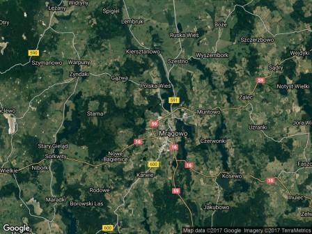 Działka budowlana Mrągowo, ul. Leśna Droga