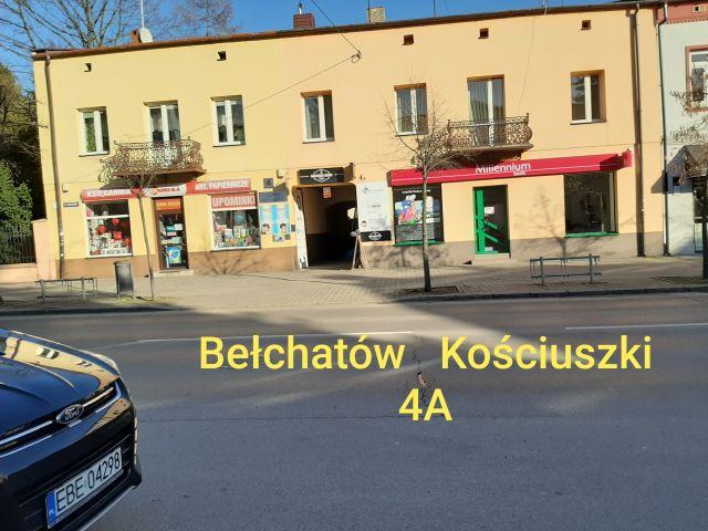Nieruchomość komercyjna Bełchatów, ul. Tadeusza Kościuszki